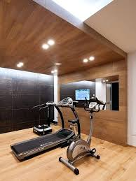 home gym furniture. Gym Furniture Home Contemporary Medium Tone Wood Floor And Beige Idea In . R