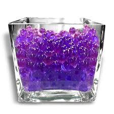 Decorative Vase Filler Balls 100g Purple BIG Round Deco Water Beads Jelly Vase Filler Balls For 55