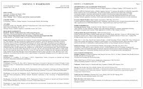 Program Of Events Sample Resume Examples Umd