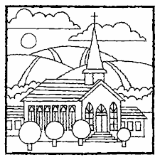 Small Picture Church Coloring Pages lezardufeucom