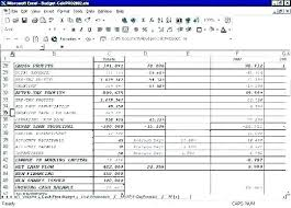 Profit Projections Template Expense Forecast Template Excel Budget Company Financial