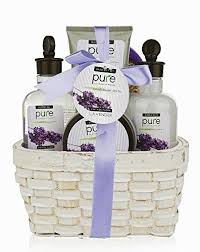 large lavender spa gift basket spa gift basket with lavender bubble bath body lotion