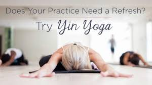 yin yoga at thrive