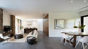 a neutral white was used by the real estate stylist to provide a contemporary look in