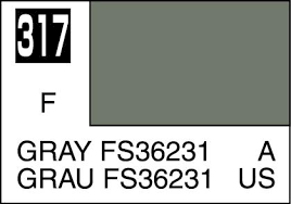 Moly Resin Color Chart Mr Color Paint Gray Fs36231 10ml C317