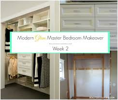 Master Bedroom Makeover Modern Glam Master Bedroom Makeover Orc Week 2 Beauteeful Living