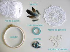 Materials For A Dream Catcher Bohemian Spirit Vintage Lace Trim Dreamcatcher Vintage lace 33