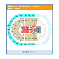 Duluth Infinite Energy Center Seating Chart Infinite Energy Center Infinite Energy Arena Events And