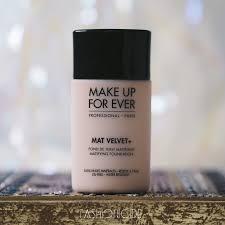 review mufe mat velvet foundation natural beige 55