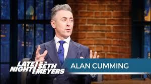 Alan Cumming on Getting Naked for His Album Cover Late Night.