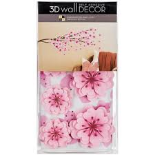 cherry blossom 3d vinyl wall decor hobby lobby 1219807