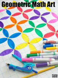 Geometric Math Art With Circles Teach Beside Me