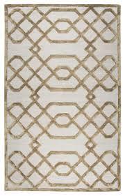 monroe trellis modern wool rug beige contemporary area rugs by rugmethod