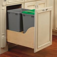 Luxury Pull Out Trash Can Rev A Shelf Double Wayfair Ikea Mounting Kit Cabinet Diy With