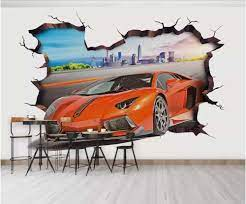 3d photo wallpaper custom mural Wall ...