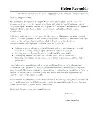 Bar Manager Resume Examples General Manager Cover Letter Awesome Classy Bar Manager Resume