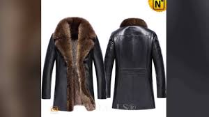 men s custom leather fur coats cw836059 jackets cwmalls com