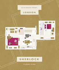 Floor plans of the flats and apartments of famous fictional ...