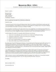Pediatric Occupational Therapist Cover Letter Samples Pediatric