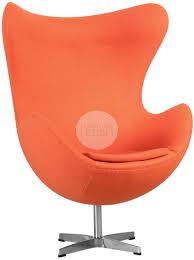 arne jacobsen egg chair side angle aniline leather arne jacobsen egg chair replica
