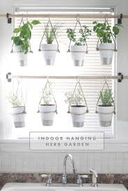 DIY Indoor Hanging Herb Garden // Learn how to make an easy, budget-