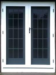 double storm doors. Double Screen Doors Home Interior Design Garage Door Storm O