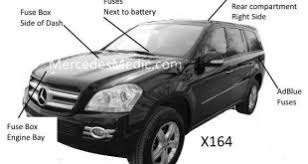 mercedes medic author at mb medic page 15 of 29 gl fuse chart 2007 2012 diagram chart location x164