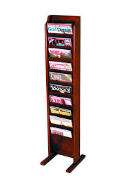 office magazine racks. Free Standing Magazine Rack Office Racks -