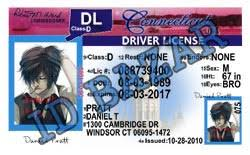 Template License Driver Psd Connecticut