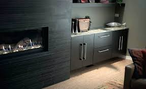 stone tiles fireplace livg chicgo stacked stone tile over brick fireplace