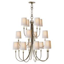 thomas o brien reed extra large chandelier by visual comfort