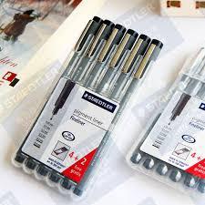 The German STAEDTLER 308#SB6P <b>needle hook</b> line <b>pen drawing</b> ...
