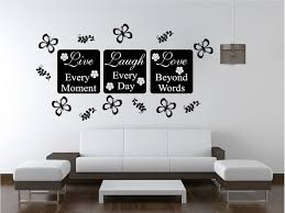 High Quality LIVE LOVE Wall Art Sticker Quote Bedroom Lounge Kitchen | EBay