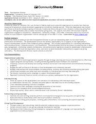 Resume Templates Non Profit Executive Foundation Director Pictures