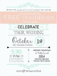 Free Electronic Wedding Invitations Templates Online Email