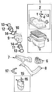 parts com® lexus es300 engine appearance cover oem parts diagrams 2002 lexus es300 base v6 3 0 liter gas engine appearance cover