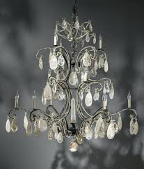 used chandeliers on classy massive wrought iron rock crystal chandelier black writer archived lighting used chandeliers on crystal