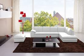 modern leather sectional couch. Brilliant Modern CADO Modern Furniture  625 Italian Leather Sectional Inside Couch