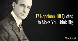 Quotes That Make You Think Unique 48 Napoleon Hill Quotes To Help You Think Big