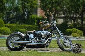mustang chopper harley davidson softail springer 1340