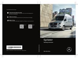 Place your vehicle and the vehicle assisting you in park or neutral and turn off the ignition on both cars. Mercedes Benz Sprinter 2019 Operating Instructions Manual Pdf Download Manualslib