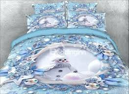 full image for personalised printed duvet covers uk printed duvet covers onlwe 3d snowman and