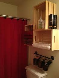 small bathroom towel storage ideas. We Actually Did Some Of The Ideas Got From Pinterest! :) Turned Out Small Bathroom Towel Storage