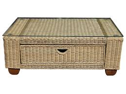 wicker coffee table with storage new coffee table wicker coffee table rattan with glass top union