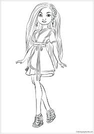 Elegant Descendants 2 Coloring Pages For Descendants And Coloring