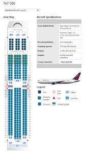 Delta Airlines Aircraft Seating Chart Delta 767 300 Commercial Aircraft Aircraft Airplane Seats