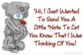 Thinking Of You Quotes Interesting You Know That I Was Thinking Of You
