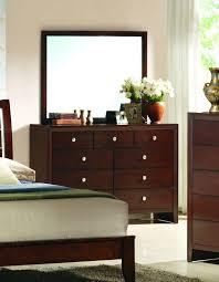 Queen Size Bedroom Suite Crown Mark Rb4700 Evan Solid Wood Cherry Finish Queen Size Bedroom