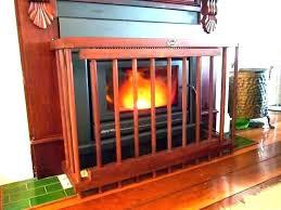 fireplace fence baby fireplace fence home depot