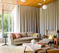 extra long curtain rods for awesome family room ideas with superb sofa and armchairs stools h11